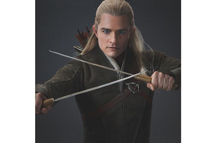 Doble Espada de Legolas en El Señor de los Anillos