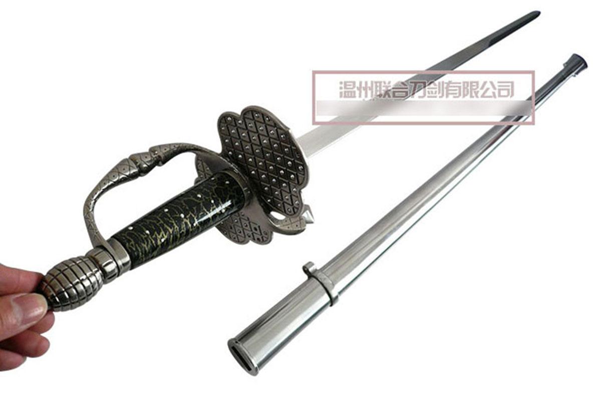 prix le plus bas enfant sélectionner pour véritable Replique de la l'épée de Zorro, rapière, le Masque de Zorro