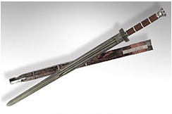 Epée Bin Tie Shao Lin Jian, Hanwei