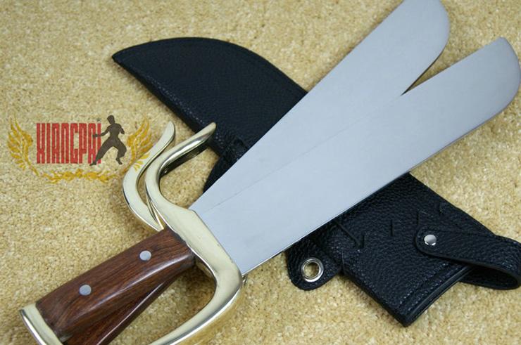 Couteaux Yong Chun Quan (Hu Die Dao) 1