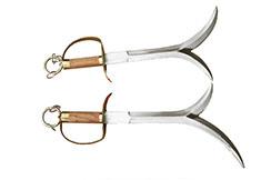Double couteaux Lin Jiao