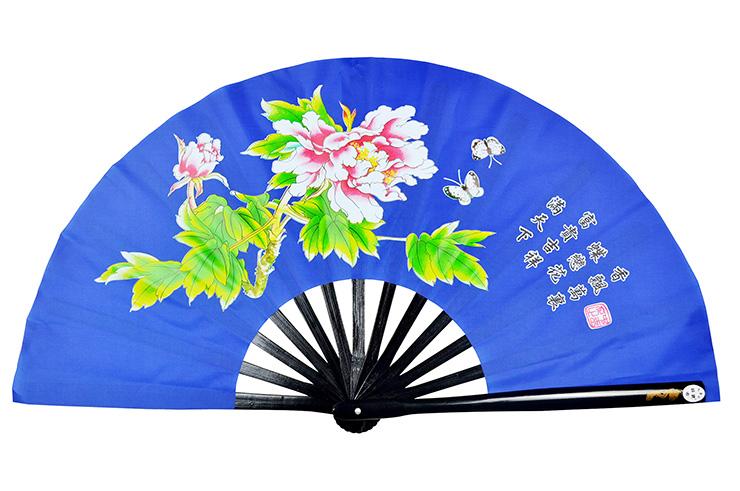 Abánico Tai Chi (Tai Ji Shan) Peonía