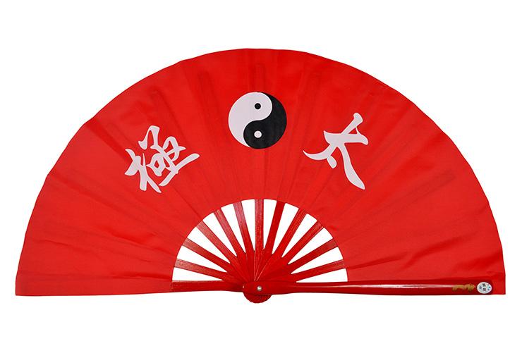 Éventail De Tai Chi (Tai Ji Shan) Imprimé