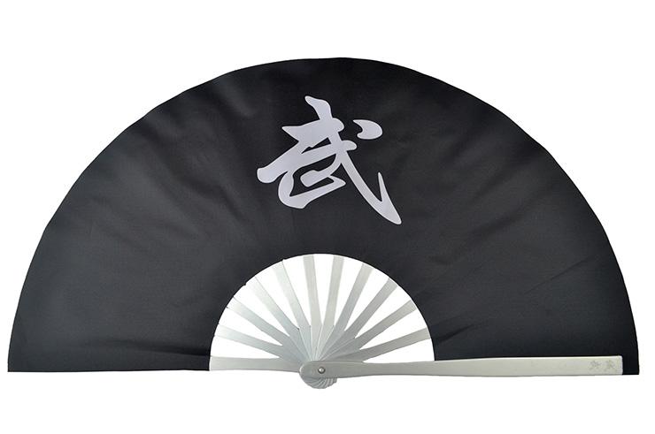 Éventail Tai Chi Métal (Haut De Gamme) Wu