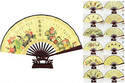 Bamboo and Damask Fan 5
