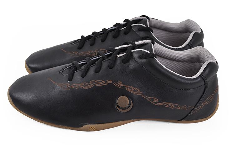Chaussures «Hua Jin» Noires Et Or