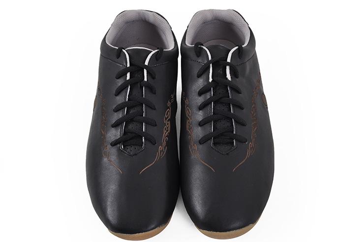 Zapatos 'Hua Jin' negro y oro