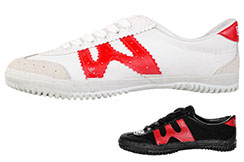Warrior Wushu Shoes, Red W