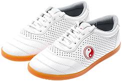 WPT Taiji Shoes, Red Yin Yang