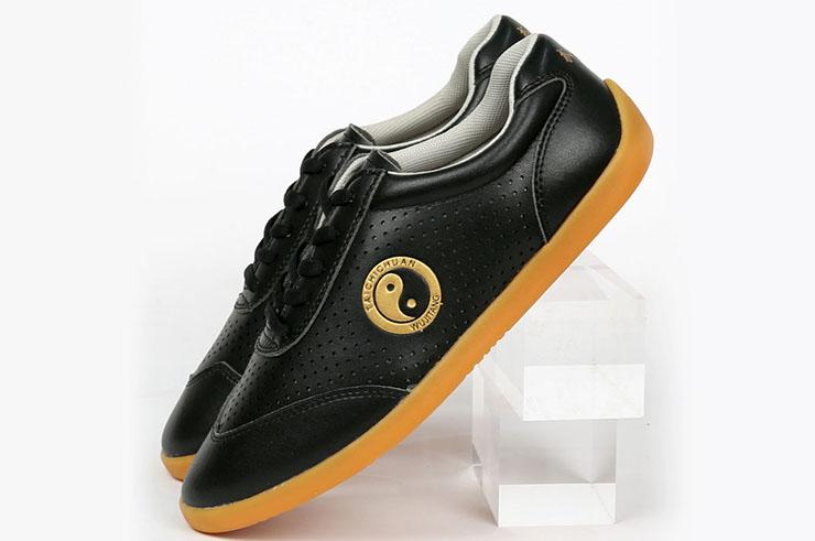 Zapatos de Taiji WJT, Yin Yang Dorado