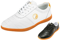 JinJi Taiji Shoes, Gold Yin Yang