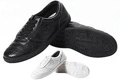 Chaussures Taiji CJQ, Yin Yang Cuir