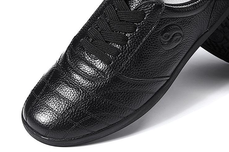 Zapatos de Taiji CJQ, Yin Yang Cuero