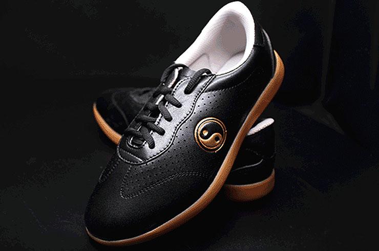 CCWS Taiji Shoes, Gold Yin Yang
