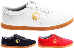 WPT Taiji Shoes, Gold Yin Yang