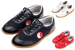 Chaussures Taiji WJT, Yin Yang Rouge