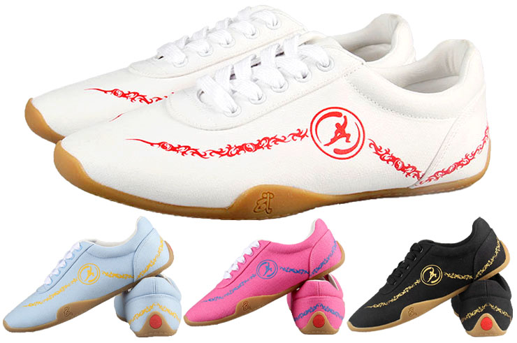 Chaussures Wushu Hong Mian, Nuages dynamiques