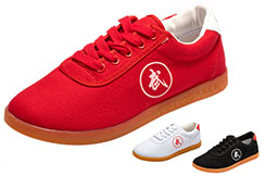 Chaussures Taiji Hong Mian, Logo Wu