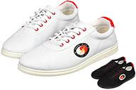 Hong Mian Taiji Shoes, Red Eyelets