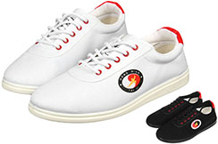Hong Mian Taiji Shoes, Red Eyelets
