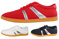 QiaoShang Taiji Shoes, Sliver Stripes