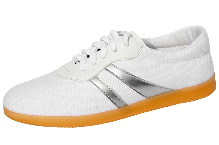QiaoShang Taiji Shoes, Sliver Stripes