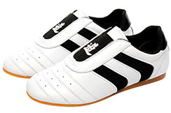Chaussures Taekwondo TieJian, Black Stripes