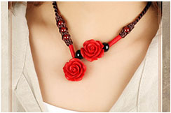 Necklace, Flower 2
