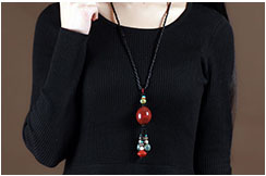 Collier, Style Porcelaine 2