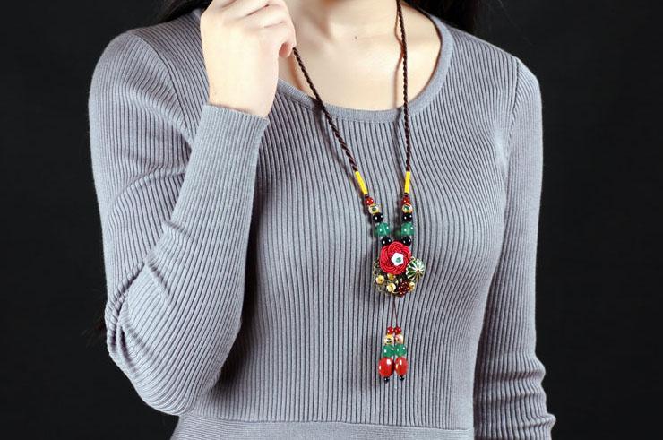 Necklace Cloisonne 4