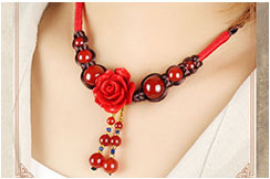 Necklace, Flower 3