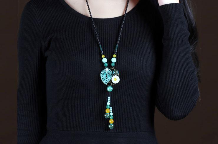 Collier, Perles de Verre 2