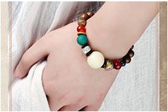 Bracelet, White Bodhi