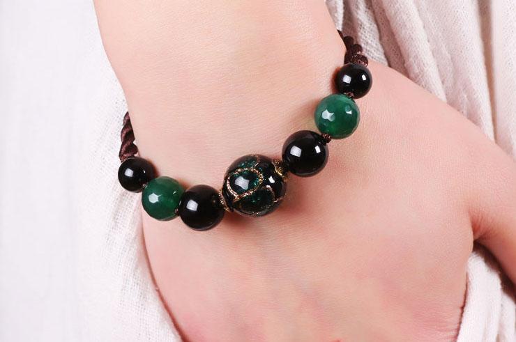 Bracelet, Perles de Verre