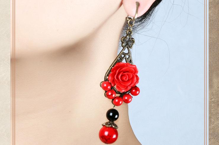 Boucle d'oreille Fleur 1