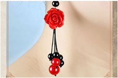 Flower earrings 2