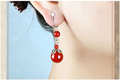 Agate Earring 1