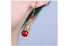 Agate earring 2