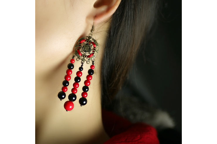 Earring, Nepal Style