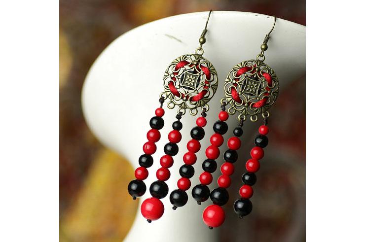Boucle d'oreille, Style du Népal