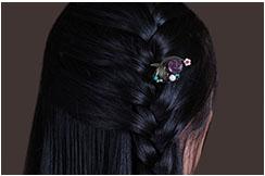 Broche Cheveux 1