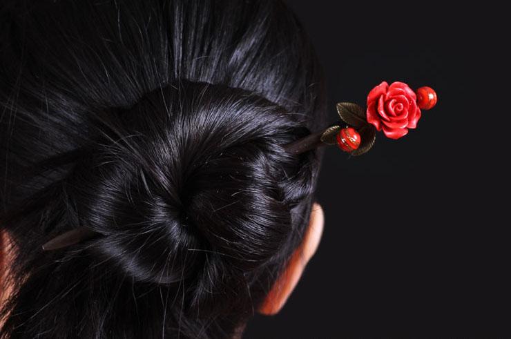 Broche cheveux 2