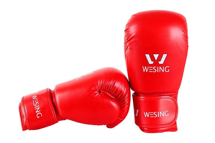 Gants de Boxe Chinoise, Sanda (PU) Wesing