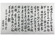 Décoration, Poème Mao Zedong