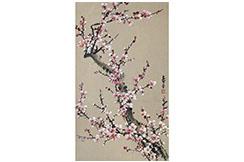 Peinture Chinoise Fleur Cerisier