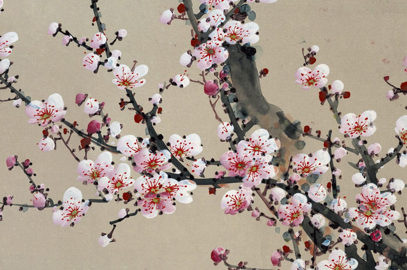 Tableau Cerisier En Fleur Idee D Image De Fleur