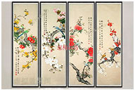 Chinese Painting Flowers And Birds