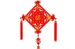 Decoration traditionelle Zhong Guo Jie