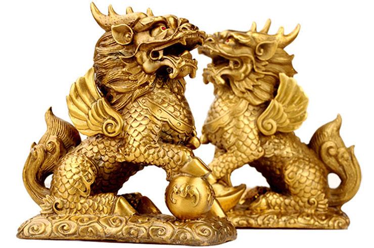 Paire de Qilin