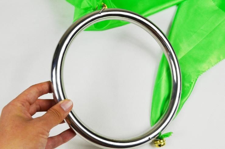 Double anneaux inox